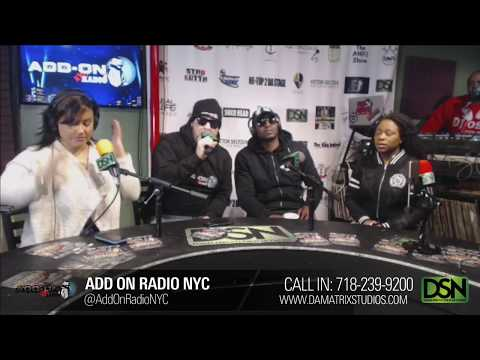 """Add-On Radio NYC Interview wit """"ICON Clothing & Pauly Starrs"""