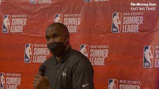 Warriors Summer League coach Kris Weems on learning lessons as competition ends