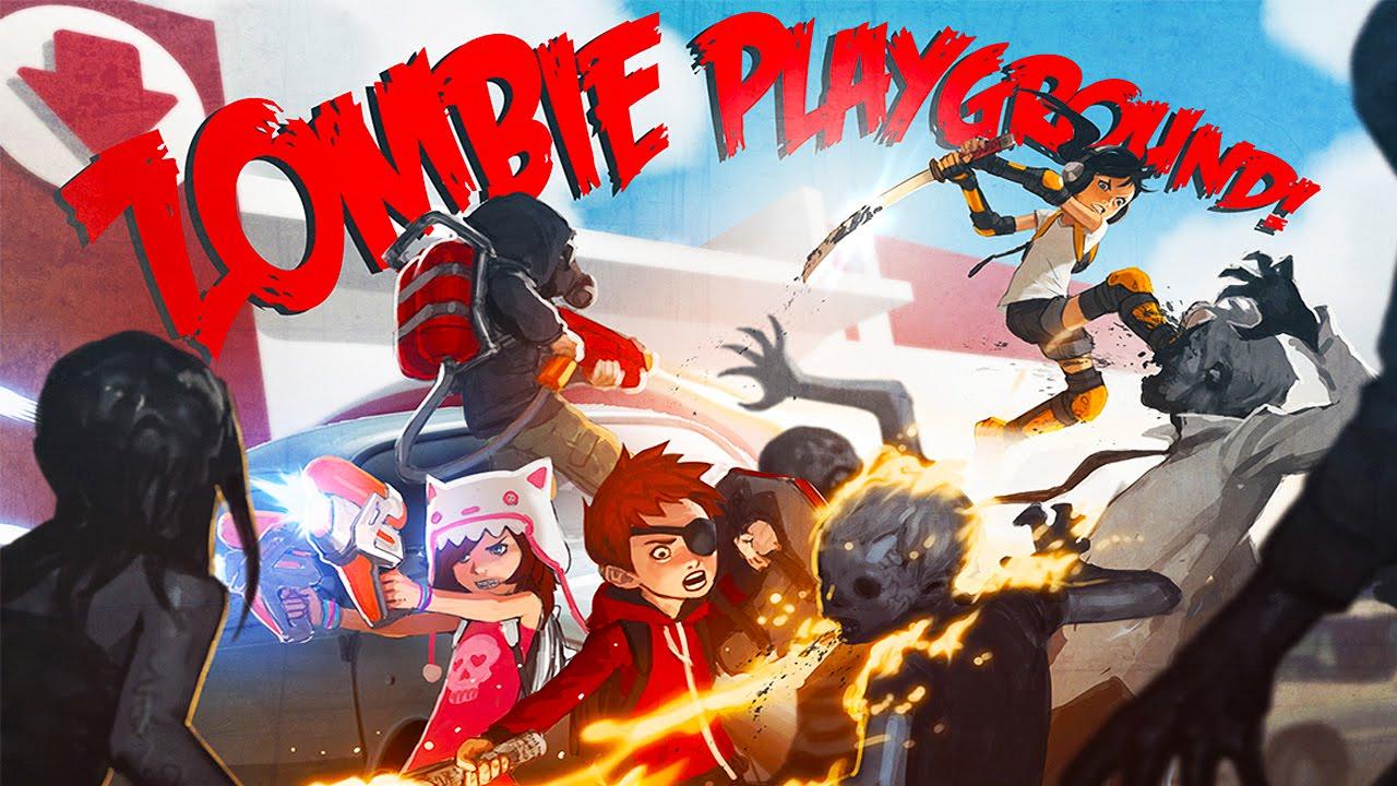 zombie playground images
