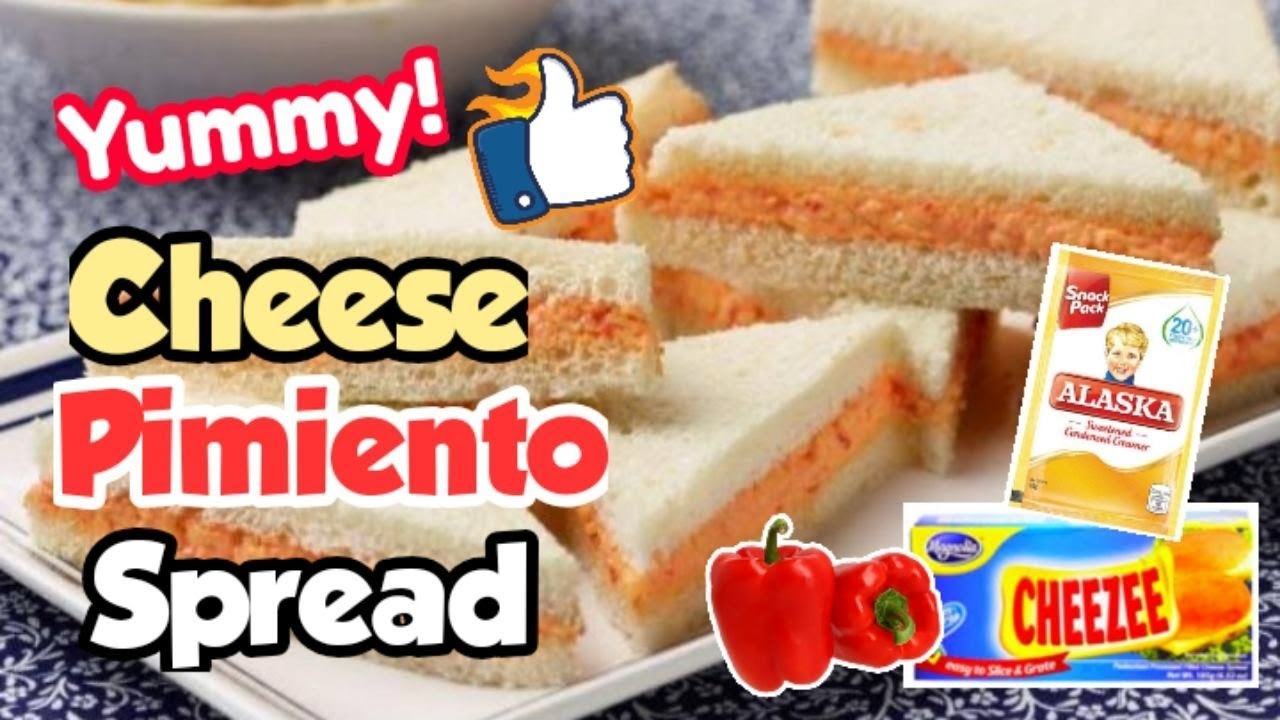How To Make Cheese Pimiento Spread Quick And Easy 5 Ingredients Filipino Style Youtube