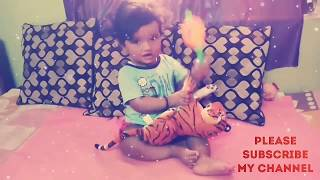 FUNNY BABY PLAYING WITH TIGER (2018)    BY FUNNY BABY