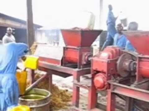 Palm oil extraction in the Eastern Congo-PALMBA