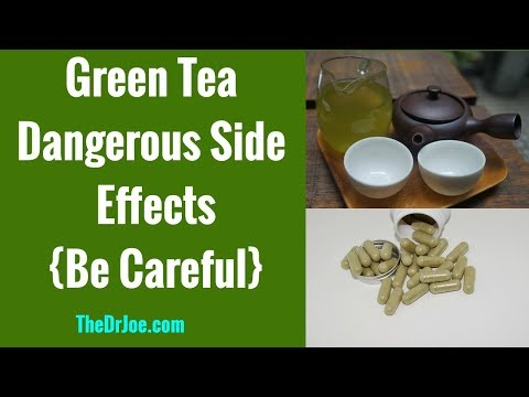 Green Tea Side Effects on Liver, Kidneys, Weight Loss, Green Tea Extract Liver Damage, BBC Story