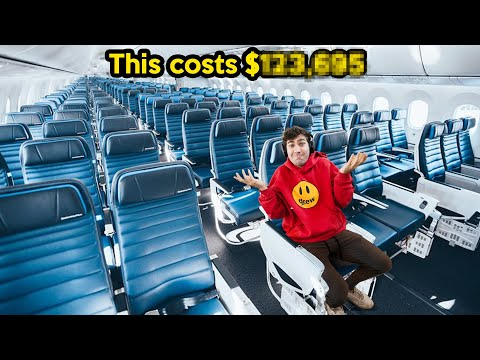I Bought Every Seat On An Airplane!