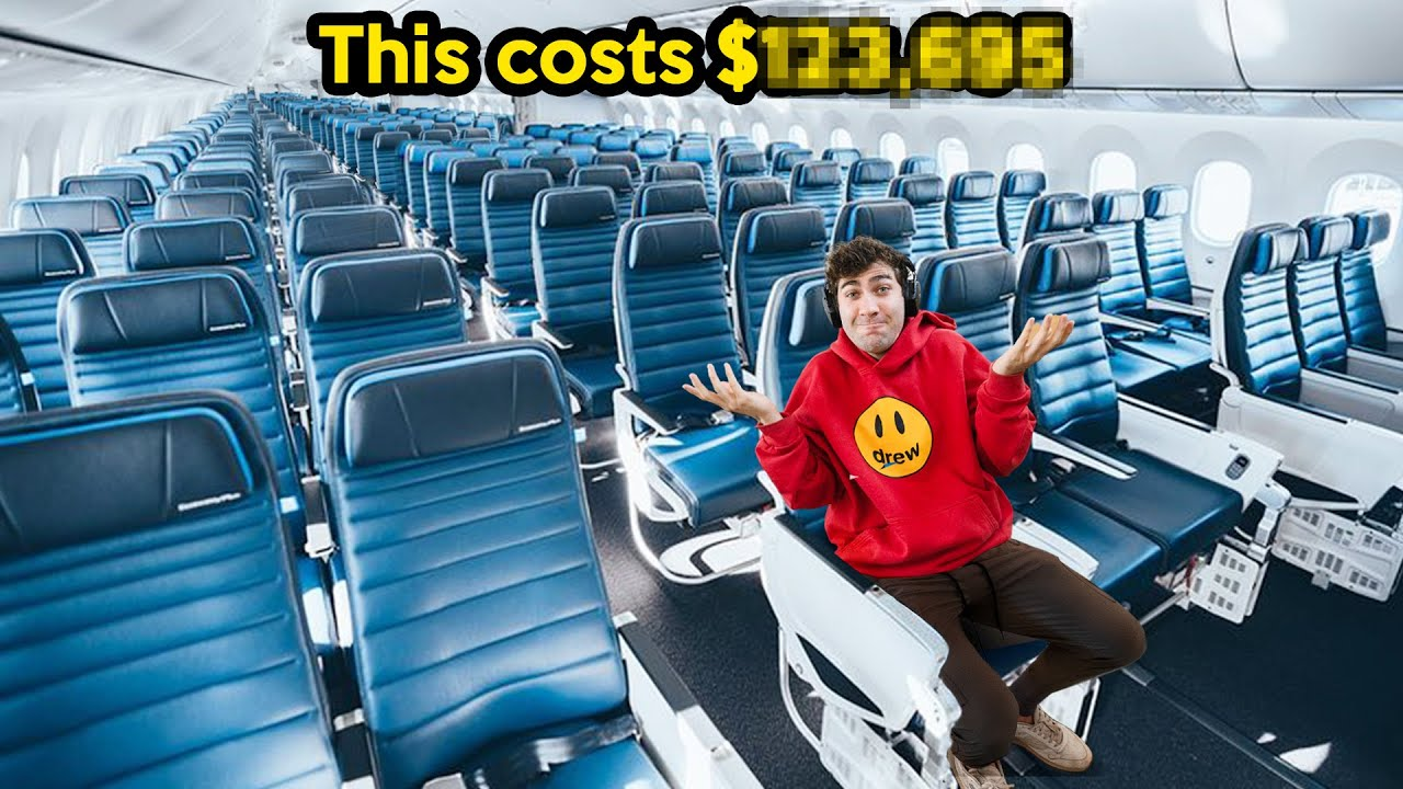 Download I Bought Every Seat On An Airplane!
