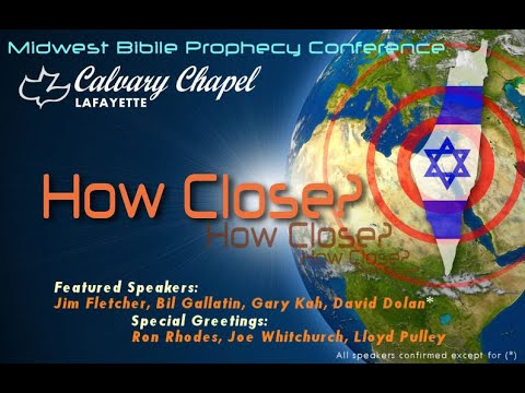 2018 Midwest Prophecy Conference Session 7   Gary Kah