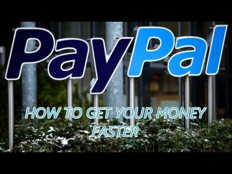 HOW TO GET YOUR PAYPAL FUNDS QUICK FAST & IN A HURRY from a EBAY SALE / PAYPAL DEBIT CARD / MONEY