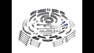 Kobalt 300-Piece Standard (SAE) and Metric Mechanic's Tool Set REVIEW (emergency readiness supplies)