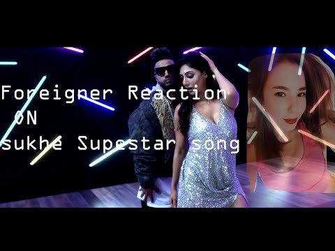 reaction by foreigner Sukhe Superstar Song...