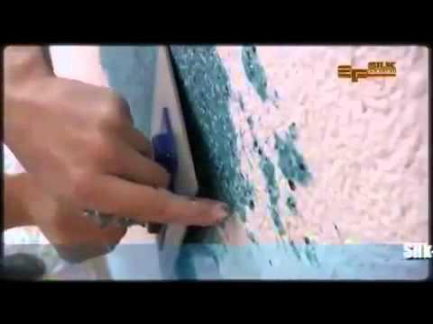 Мастер класс по работе с жидкими обоями Silk Plaster в Воронеже Обойный мир