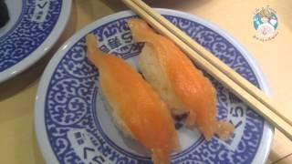 Японская еда. Ресторан Суши в Японии