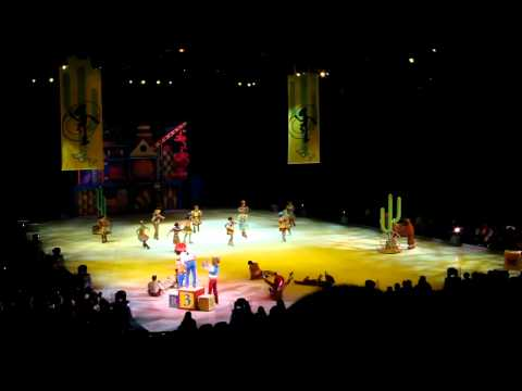Toy Story 3 on Ice Columbia, SC 4/12/2012 Country Dance