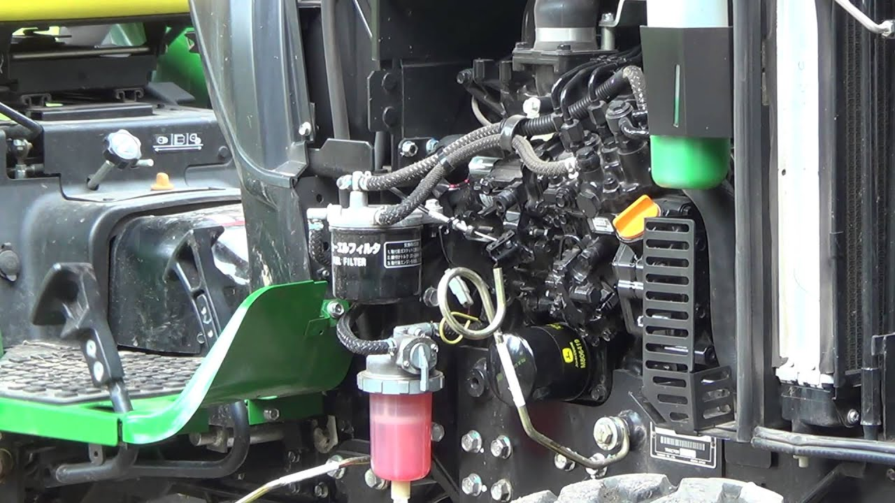 24 Hour Oil Change >> First 100 hour oil change on the deere 2032R and seasoning ...