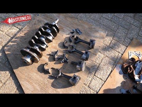 Opgeblazen motor demonteren & hoe werkt een motor?