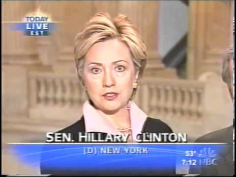 Hillary Clinton in 2003: U.S. Election Calendar Shouldn't Dictate Iraq Policy