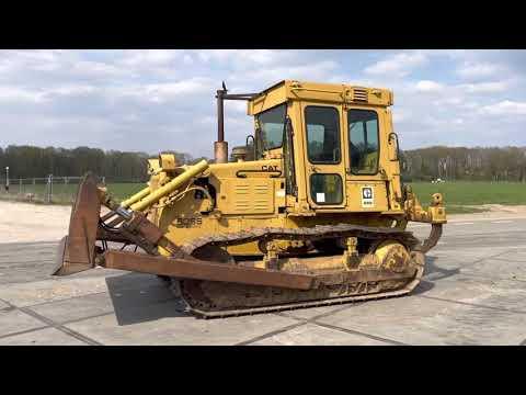 Used heavy machinery Caterpillar D5B Bulldozer