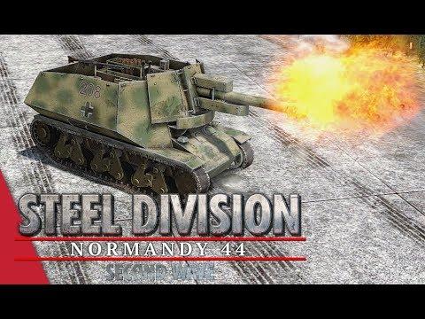 TGPT Round 1! Steel Division: Normandy 44 - Cadilakor vs 天堂的下面是你们的天堂 (Game 1, Carpiquet - Duellists)