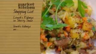 Finishing Lamb Kidneys With Sherry Sauce - Market Kitchen