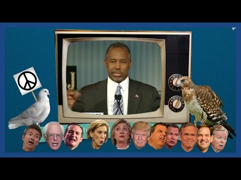 Hawks and doves: an animated guide to 2016 candidates