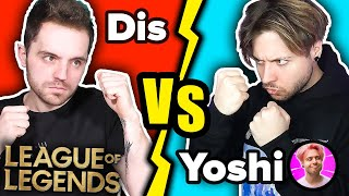 WIELKI POJEDYNEK w LEAGUE OF LEGENDS! *Dis vs YoshihitoMayoshe*