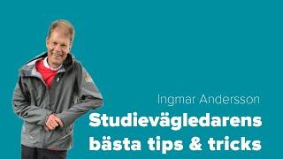 Konsten att välja  utbildning. Lär dig  tekniken att hitta din egen väg! | Ingmar Andersson