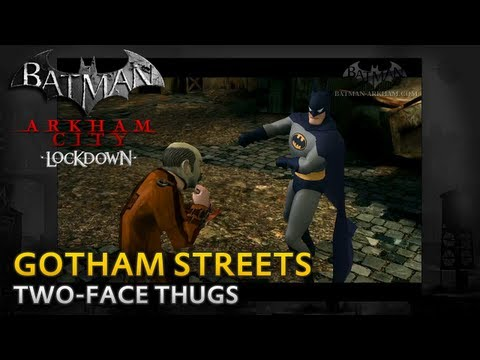 Batman: Arkham City Lockdown - Walkthrough - Gotham Streets