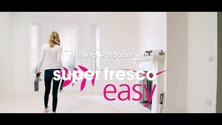How To Wallpaper With Superfresco Easy