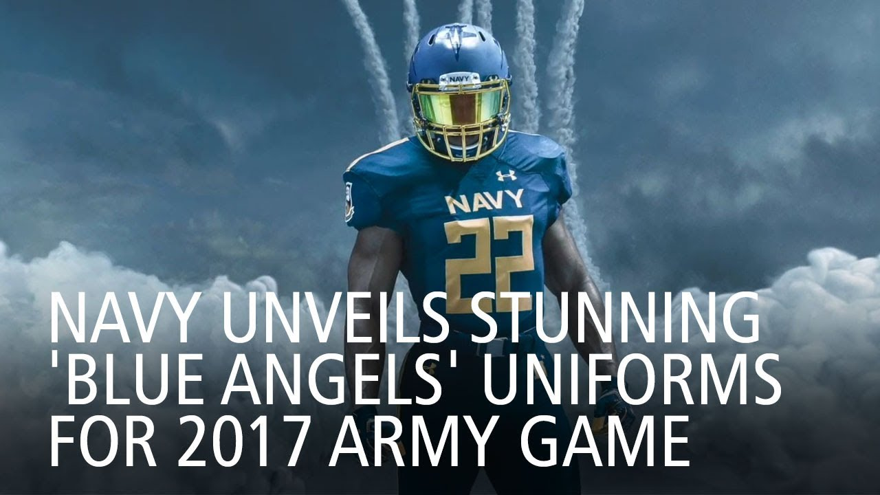 Navy Unveils Stunning  Blue Angels  Uniforms For 2017 Army Game ... e41e3d28c