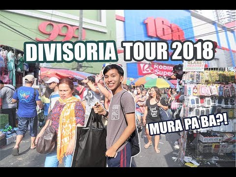 DIVISORIA SHOPPING + TOUR (999, 168, Tutuban Center & more)