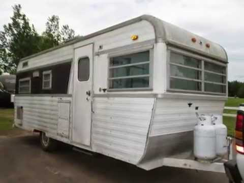 """Campers For Sale In Mn >> """"VINTAGE"""" Holiday Trav'ler Travel Trailer 218-496-5678 Duluth, MN For Sale - YouTube"""