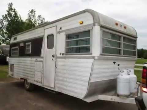 VINTAGE Holiday Travler Travel Trailer 218 496 5678 Duluth MN For Sale