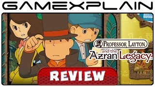 Professor Layton and the Azran Legacy - Review Discussion (3DS)