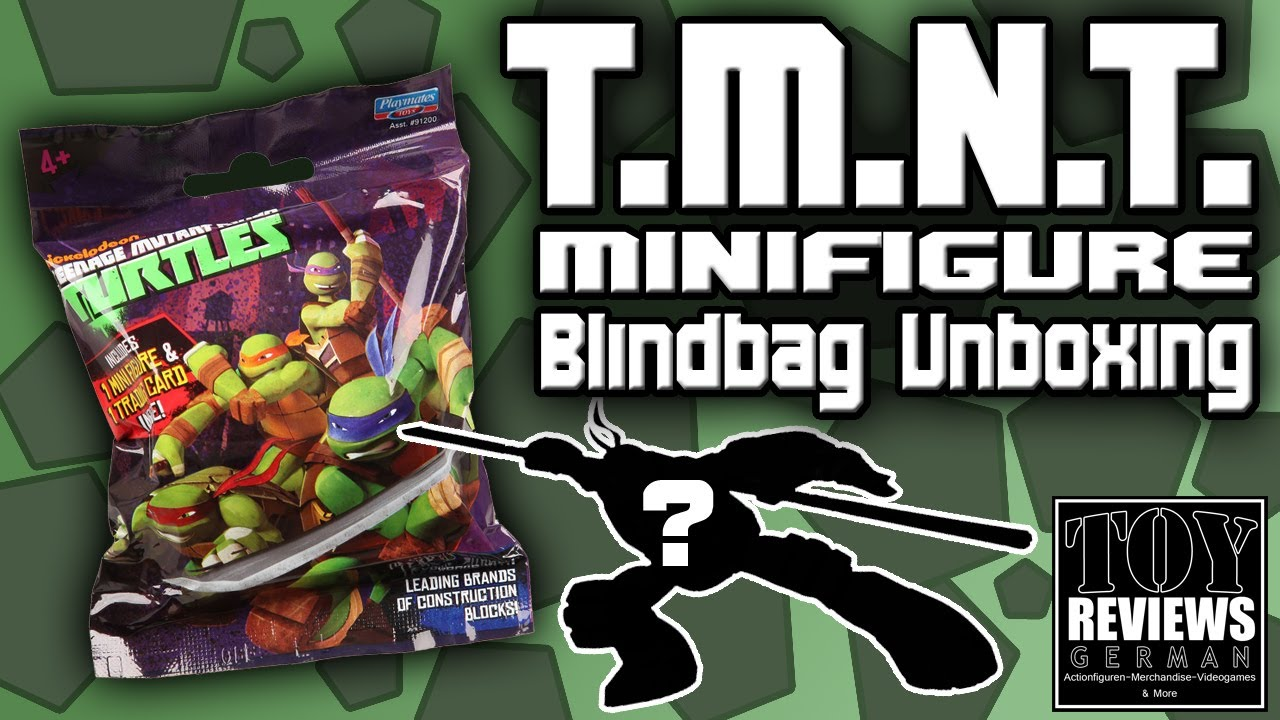 Teenage Mutant Ninja Turtles Minifigures Blindbag  German