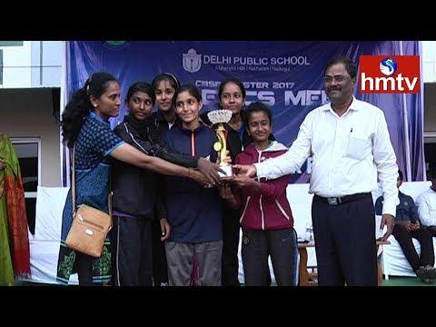 CBSE Cluster 2017 Athletic Meet | 1st Day Highlights | Hyderabad | hmtv