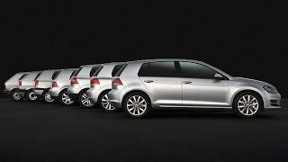 La historia del Volkswagen Golf (MkI al MkVII) | Autoblog Uruguay
