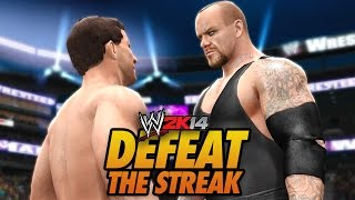 WWE 2K14 - Defeat The Streak w/ Chris Danger!!