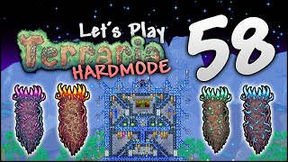 CREATING MY FIRST SPACE BASE IN TERRARIA! | Let's Play Terraria 1.3.5