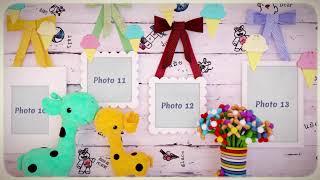 Красивое детское слайд шоу: пример, стоимость, заказать