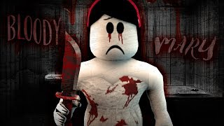 One of cybernova games's most viewed videos: BLOODY MARY! Roblox SCARY STORIES