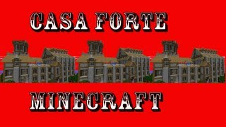 Casa Forte (Safe House) - Tutorial Minecraft