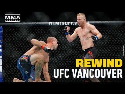 Rewind: UFC Vancouver