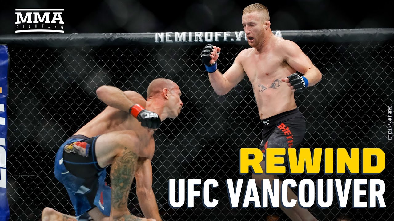 UFC Vancouver Rewind: Justin Gaethje Knocks Out Donald Cerrone - MMA Fighting