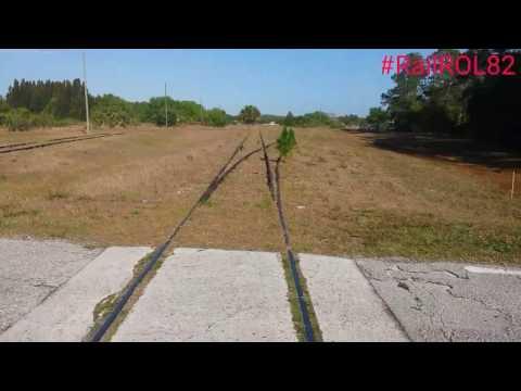 CSX Abandoned McCoy Air Force Base Spur Orlando, Florida Part 2