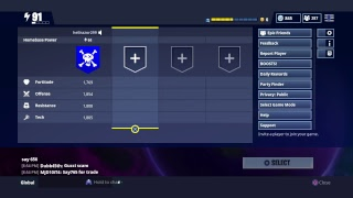 Gun giveaway fortnite Save the world new horde event redmanjay420, balloons buns, jay and friends