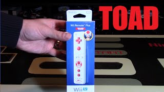 Toad Wii Remote Plus Unboxing | Nintendo Collecting