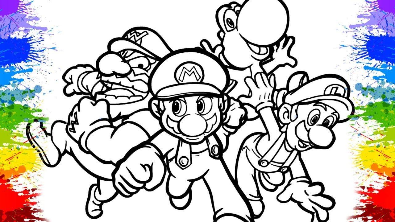 Desenholandia Pintando Jogo Do Super Mario Desenhos Divertidos