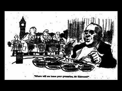 Alex Salmond Scotland's First Minister claims £800 food allowance for 2 months
