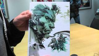 Metal Gear Solid: HD Collection Limited Edition unboxing video (Zavvi exclusive)