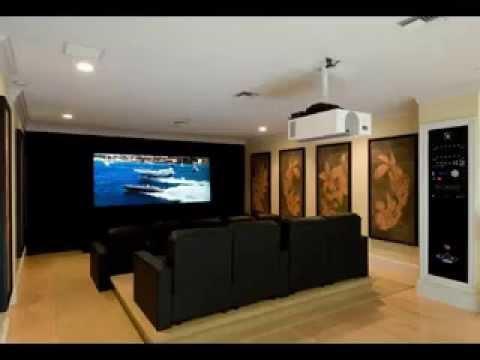 Cinema Room diy home cinema room decorations - youtube