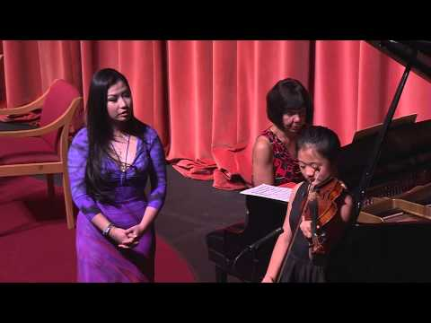 Meet the Artist - Sarah Chang - Violinist - October 2013